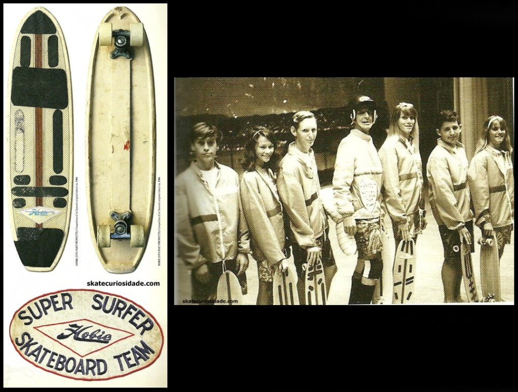 Hobie Team(apresentao Santa Monica City 1966) - Skate de Cris Dawson's